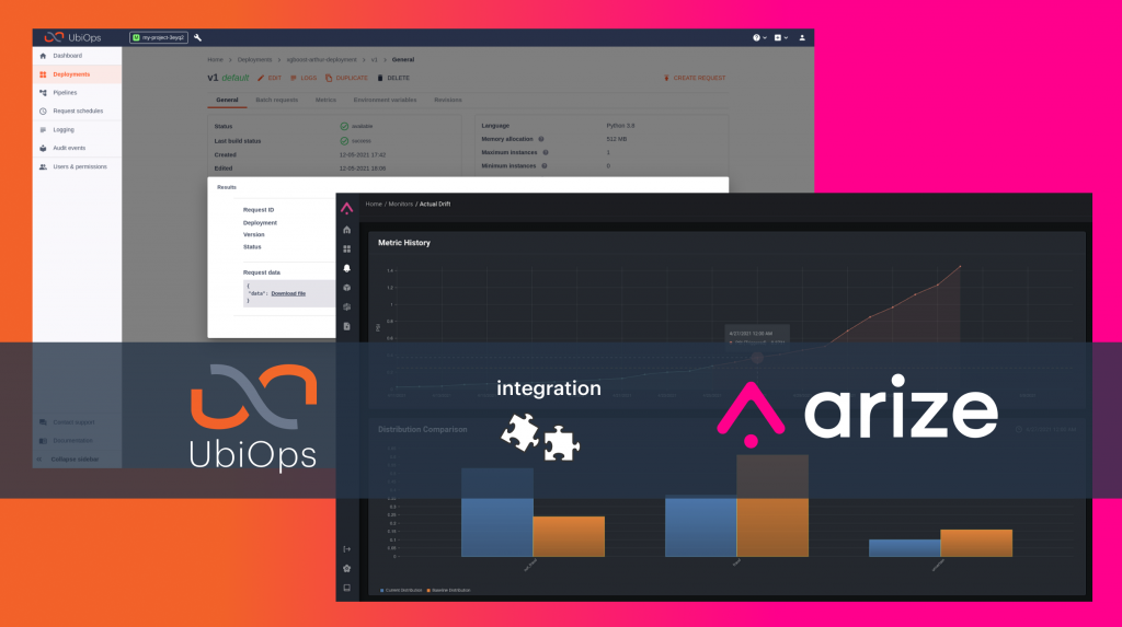 Arize Partners with UbiOps to Accelerate Model Building & Deployment